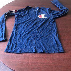 A271 Champion Size Yth L Long Sleeve Shirt